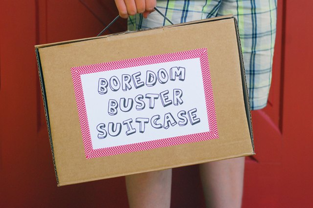 Get Rid of the Summertime Blues with a Boredom Buster Suitcase