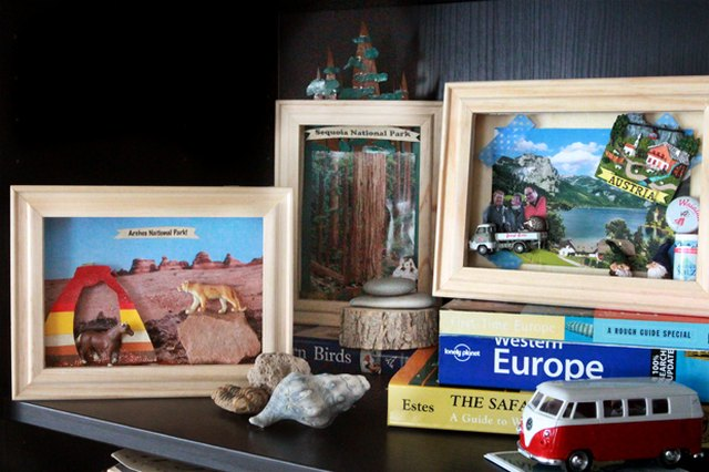 Make Your Own Personalized Vacation Shadow Box