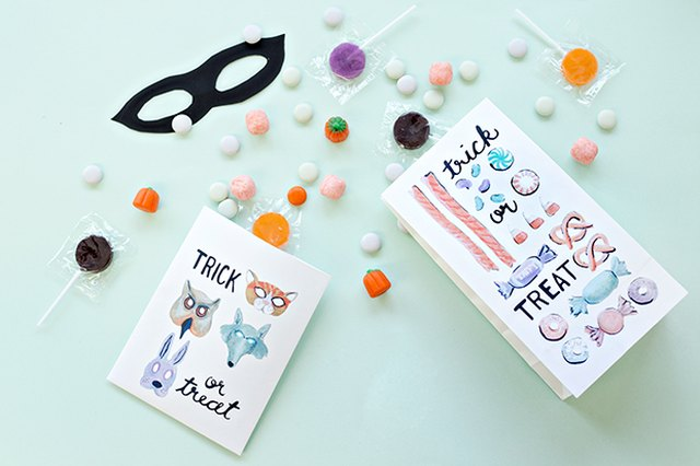 Free Printable Halloween Treat Bags
