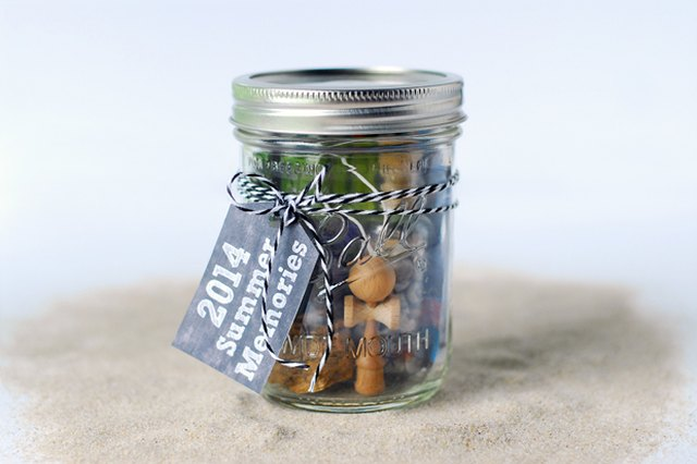 Remember Your Summer with a Mason Jar Time Capsule