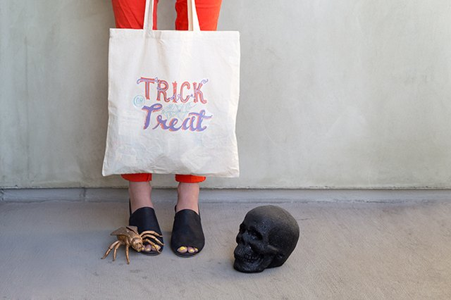 DIY Trick or Treat Bag Printable