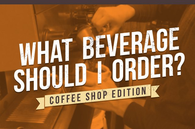 What Beverage Should I Order? Coffee Shop Edition