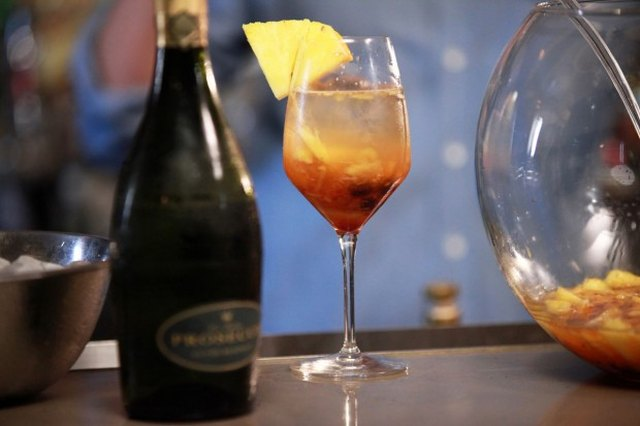 Festive Champagne Punch
