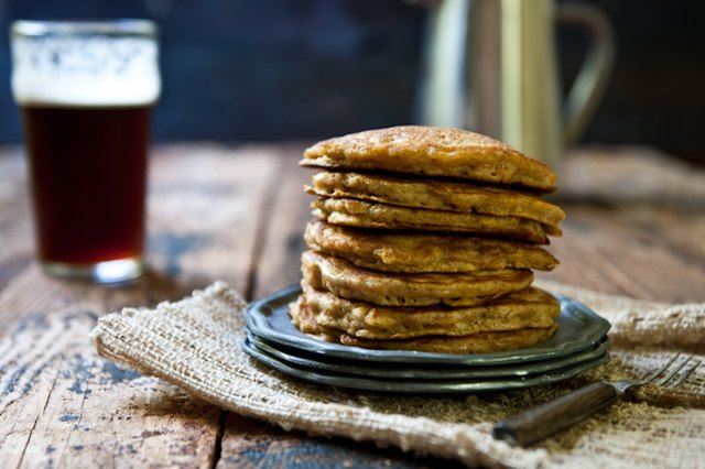 Make Mom Breakfast In Bed. With Beer. Carrot Cake Ale Pancakes