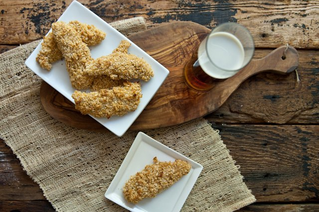 Oven-Fried Beer and Buttermilk Chicken