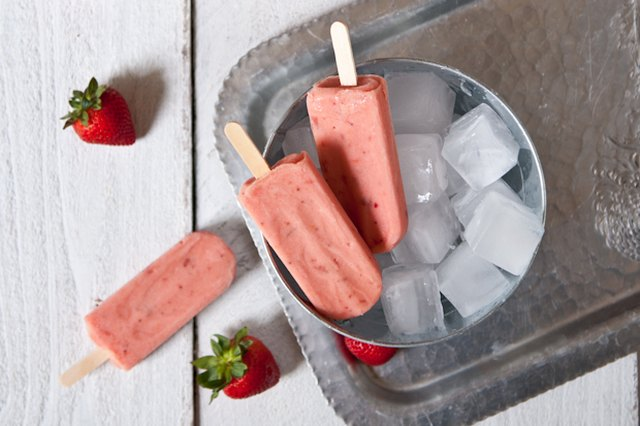 Strawberry Beer Popsicles Just for the Adults