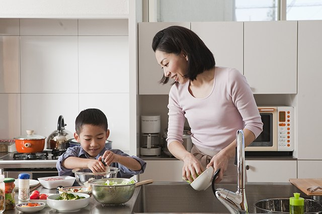 Getting Your Children Involved in the Kitchen
