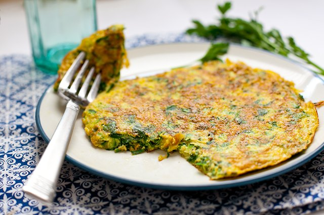 Effortless Herb and Zucchini Frittata