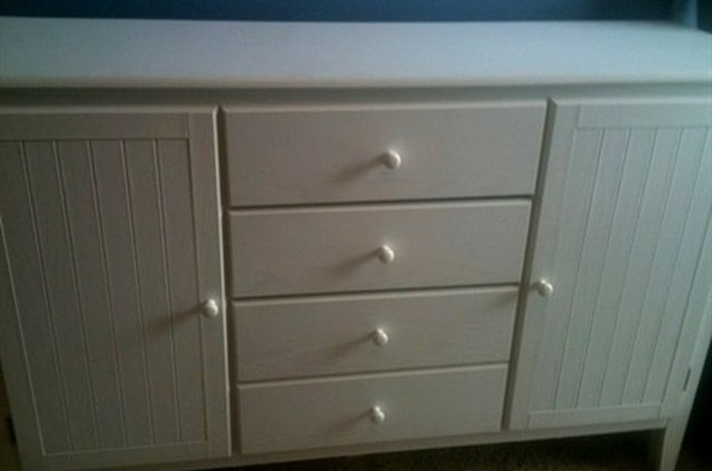 Before and After: A Dresser for Baby