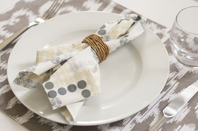 DIY Linen Napkins Make Tablescape Customization a Snap