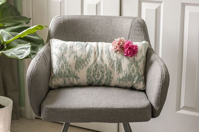 3 Plain Pillows Get Facelifts Thanks to Inexpensive Embellishments