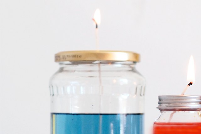 Light Up Your Next Outdoor Party With Colorful Oil Lamps