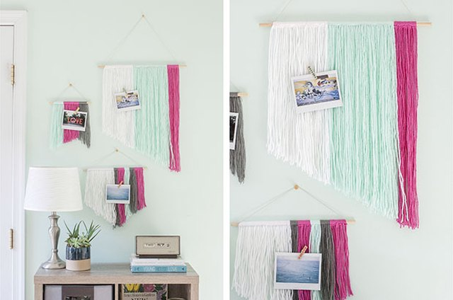 Add Budget-Friendly Personality to Your Walls with DIY Yarn Wall Hangings