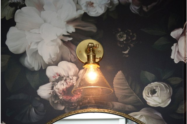 Make Your Powder Room Fabulous With Wallpaper