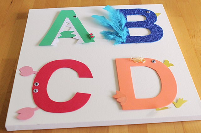 Make It: Alphabet Letters