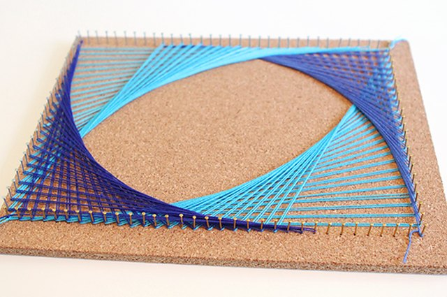 Math + Art = String Art