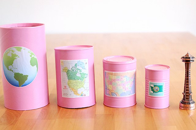 DIY Geography Nesting Set