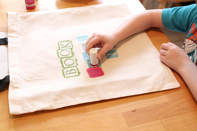 Make Reading Fun with a Custom Library Bag