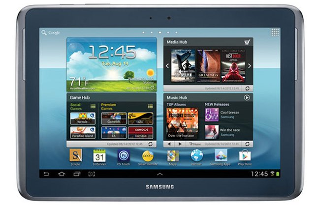 Samsung Galaxy Note 10.1 Comes in for a Landing