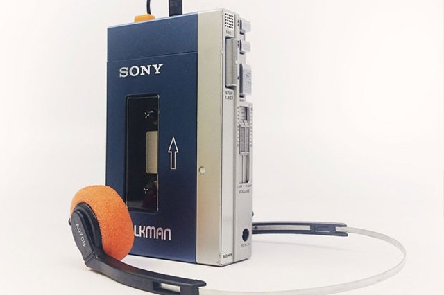 Before There Were MP3s: The Sony Walkman