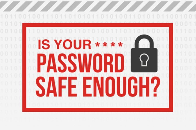 Is Your Password Safe Enough? [Infographic]