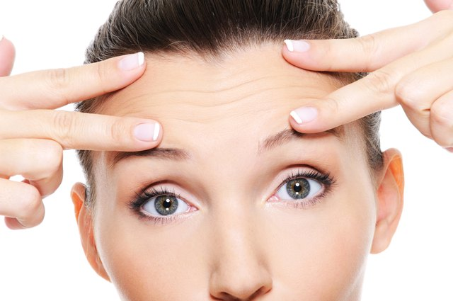 How to Get Rid of Forehead Frown Lines | LEAFtv