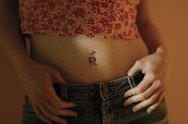 Symptoms Of Rejecting Bellybutton Rings Leaftv