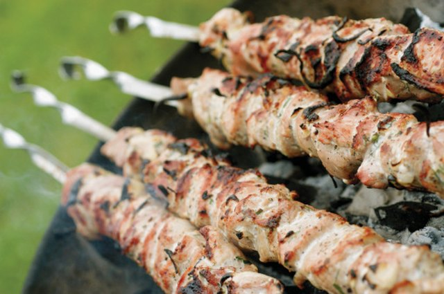What cut of meat is used for kebabs