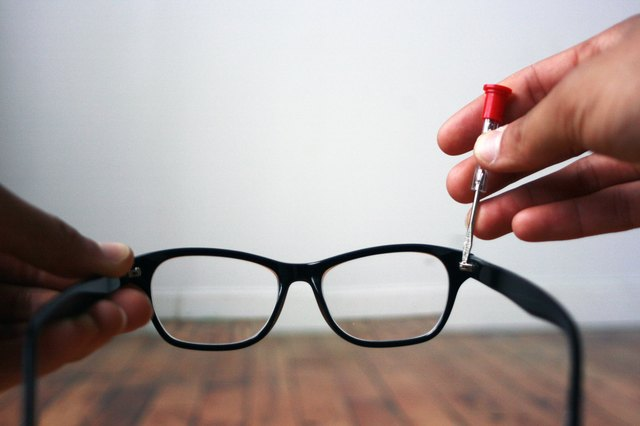 How To Tighten Loose Glasses Leaftv