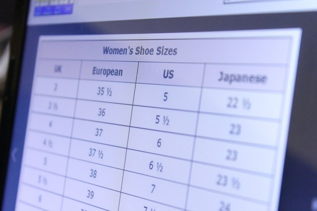 How do I Convert Kids' Shoe Sizes to Women's Shoe Sizes