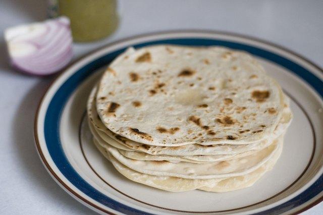 How to Make Flour Tortillas Without Baking Powder | LEAFtv