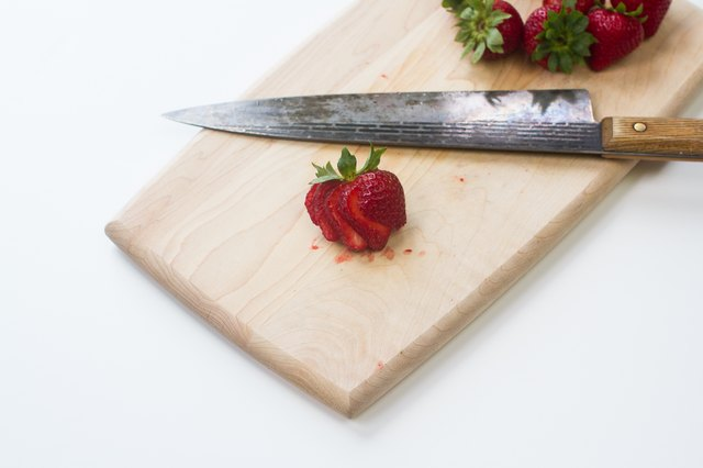 How To Cut Strawberries For Decoration Leaftv