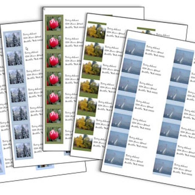 How to Print Free Return Address Labels