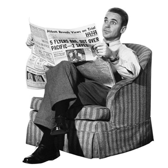 History of Newspaper Ads