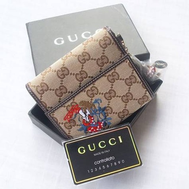 c6664c49109 How to Spot a Fake Gucci Wallet