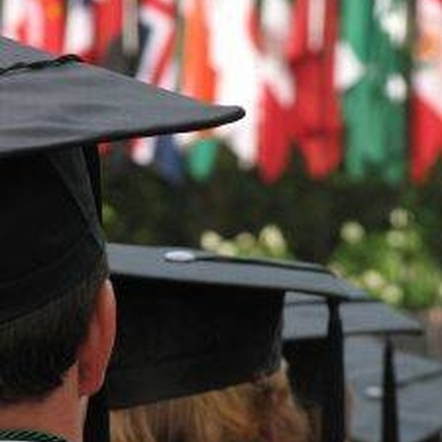 How to Sew Graduation Caps