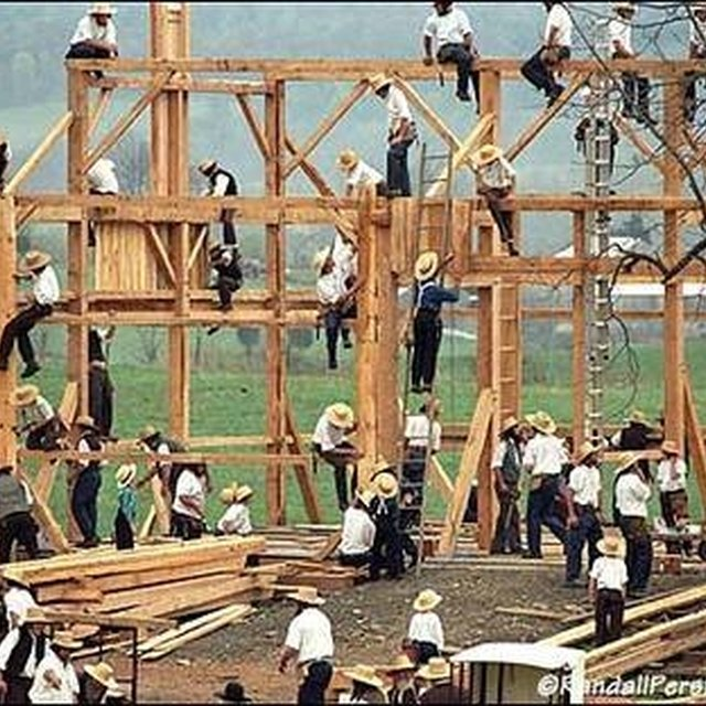 How to Build an Amish Barn