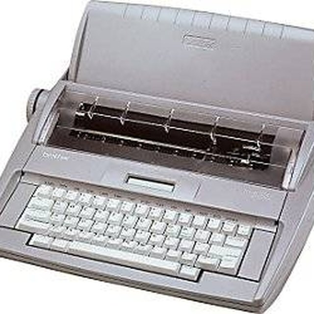 Information on the Typewriter