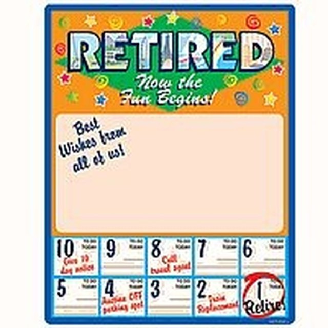 How to Calculate Retirement Days
