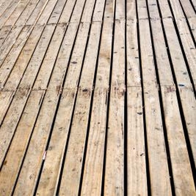How To Sand And Smooth A Wooden Deck Homesteady