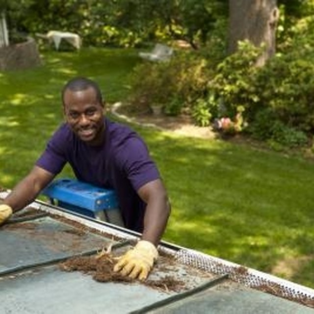 How To Repair A Hole In A Gutter Homesteady