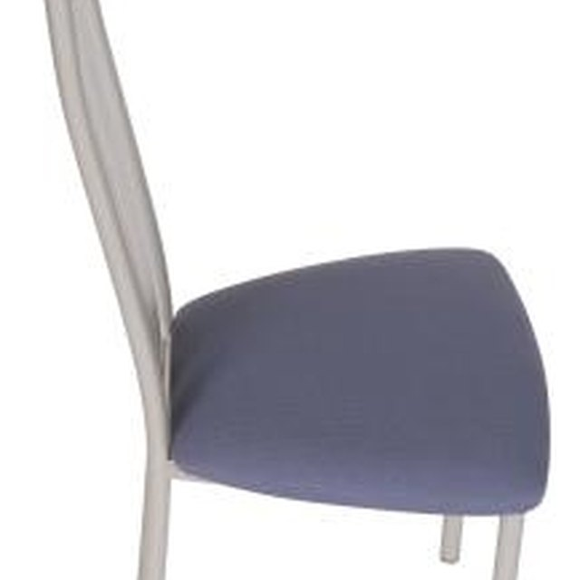 How To Replace Batting Amp Foam On A Dining Chair Homesteady