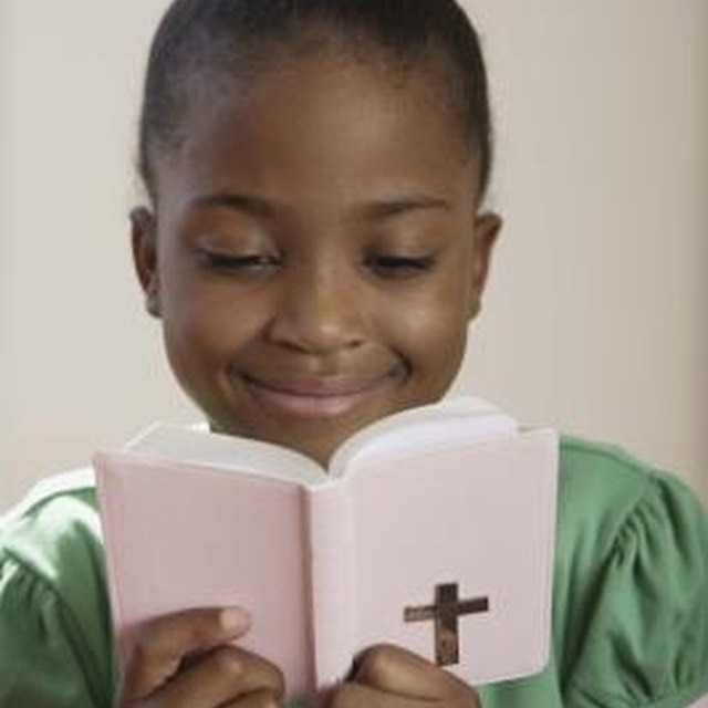 Activities for First Grade Catholic Children