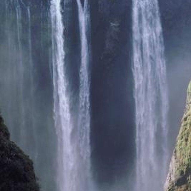 Waterfall School Project Ideas