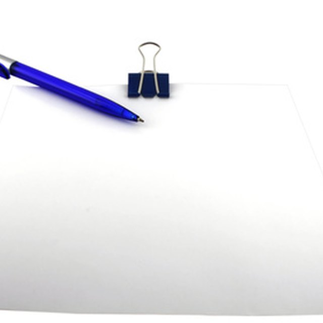 how to set up a business letter on company letterhead