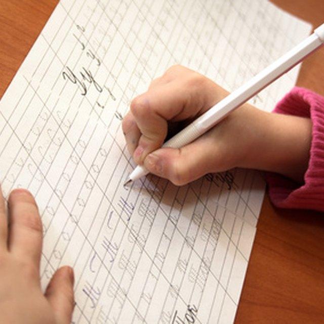 How to Teach Cursive Writing to Beginners