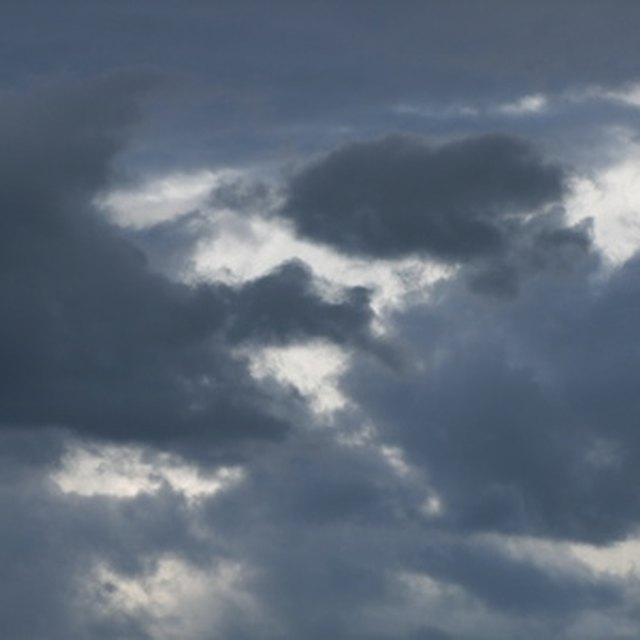 Awesom Storm Front That Darkened >> Warning Signs Of Thunderstorms