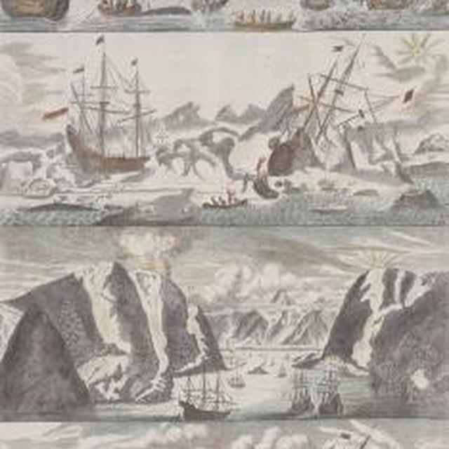 1700s Shipwrecks