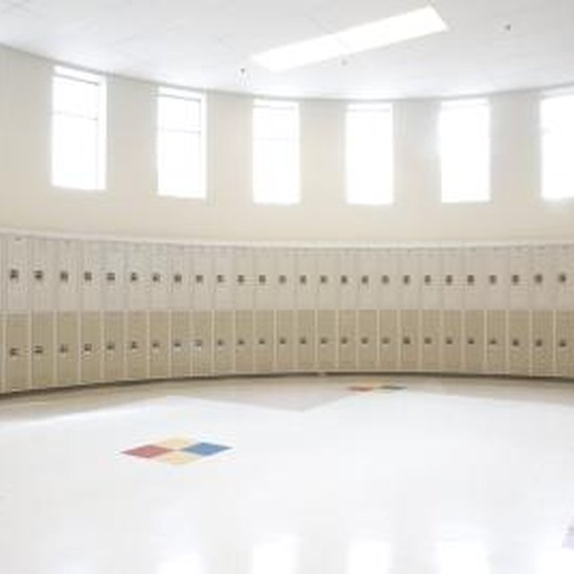 The Advantages of Lockers in Schools