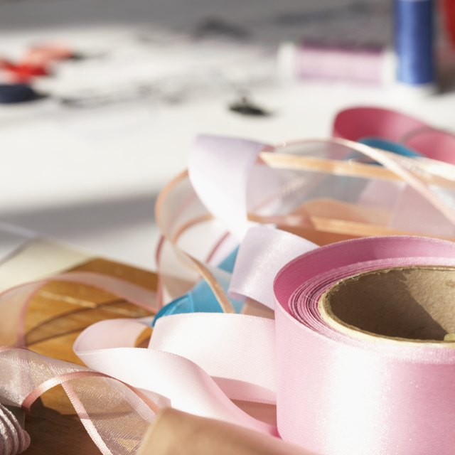 How to Make Bows for Greek Christening Candles